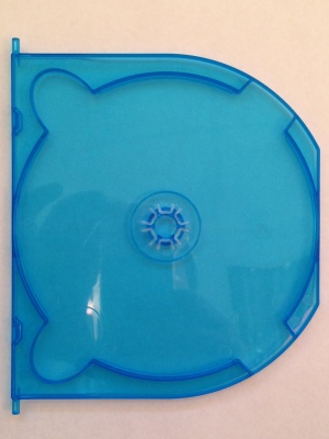 Amaray Blu-Ray BLUE 2 Disc double-sided  INSERT for Amaray  (50 INSERTS)