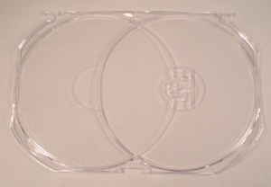 Amaray SINGLE disc insert to fit AMAD9000 Unit of 50 inserts