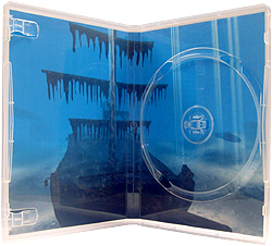 Duraty DVD case SINGLE SUPERCLEAR with ''M'' lock (Unit of 50 cases)
