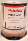 Shinka Pro DVD-R47 WHITE F/I Thermal f/f 16x Spindle 100.