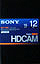 Sony HDCAM 12 minute portable BCT12HD