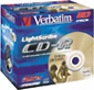 Verbatim Lightscribe CDR 52x 700MB 10-pack Jewel Case