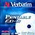 Verbatim CDR80 700MB WHITE INKJET printable 52x Single. Jewel Case ref 43325