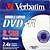 Verbatim DVD+R DUAL LAYER WHITE INKJET 2.4x Jewel Case