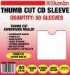 Humlin Thumbcut CD/DVD Mailer 50-pack
