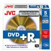 JVC 5 pack DVD+R Non Print Premium Quality Gold surface 16x in  jewel case