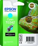 Epson T0342 Chameleon Cyan Ink Cartridge : T034240