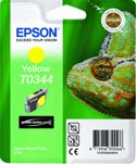 Epson T0344 Chameleon Yellow Ink Cartridge : T034440