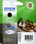 Epson T0431 Sunglasses Black Ink Cartridge : T043140