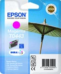 Epson T0443 Parasol Magenta Ink Cartridge : T044340