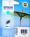 Epson T0452 Parasol Cyan Ink Cartridge : T045240
